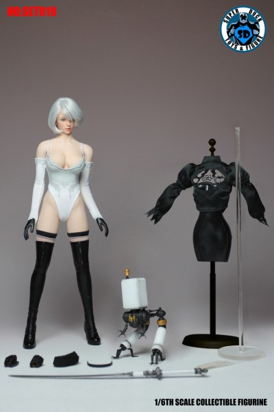 SUPER DUCK 1/6 Sexy Robot 2.0 (Costume & Head Set)
