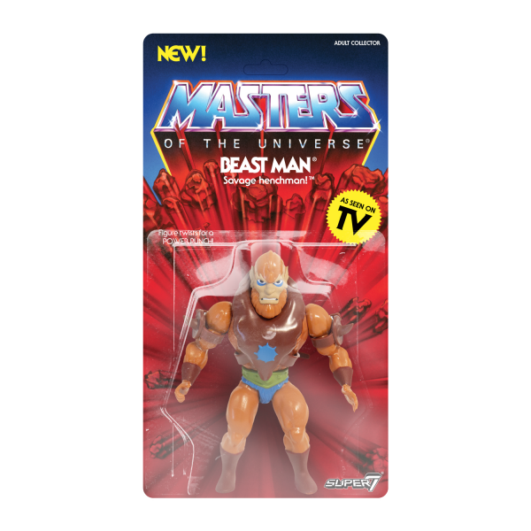 Masters of the Universe Vintage Actionfigur Beast Man