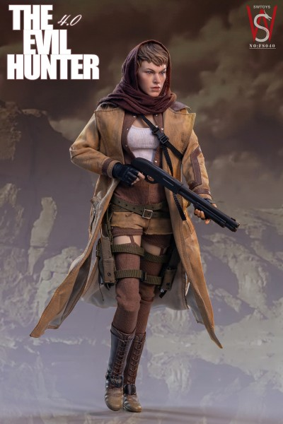 SWToys Actionfigur 1/6 Evil Hunter 4.0