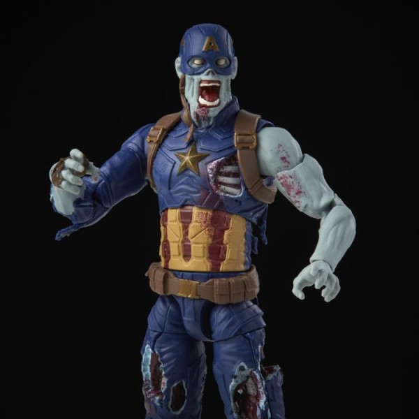 What If...? Marvel Legends Actionfigur Zombie Captain America