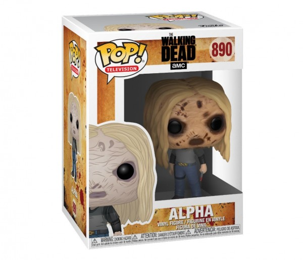 Walking Dead Funko Pop! Vinylfigur Alpha (with Mask) 890