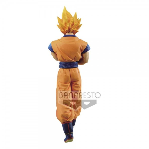 Dragonball Z Solid Edge Works Statue Super Saiyan Son Goku