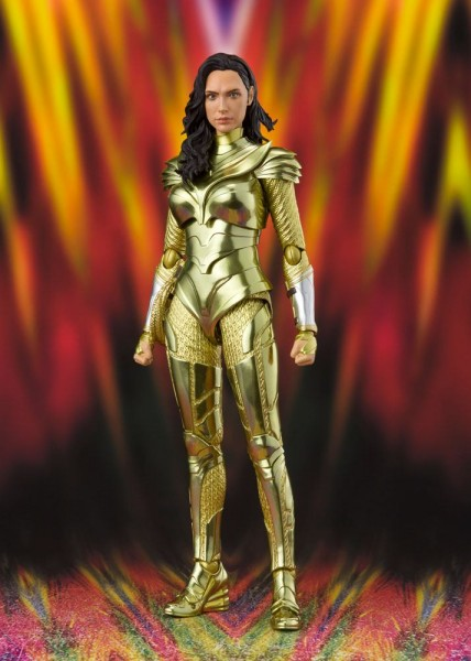 Wonder Woman 1984 S.H. Figuarts Actionfigur Wonder Woman (Golden Armor)