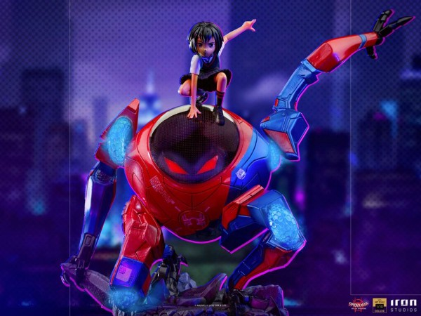 Spider-Man: A New Universe BDS Art Scale Statue 1/10 Peni Parker & SP (Deluxe)