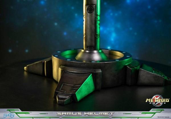Metroid Prime Statue Samus Helmet