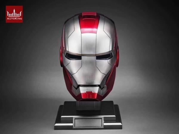 AutoKing 1/1 Movie Prop Replik Helm Iron Man MK5