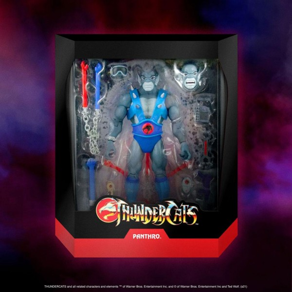 Thundercats Ultimate Actionfigur Panthro