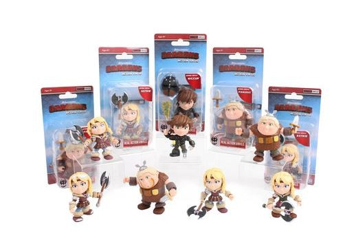 How To Train Your Dragon Heroes & Humans Action-Vinylfigur Wave 2 Fishleg Racing