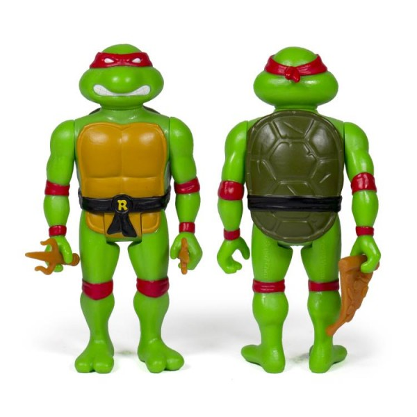Teenage Mutant Ninja Turtles ReAction Actionfigur Raphael