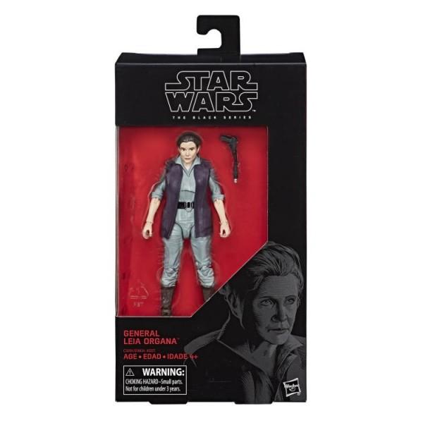 Star Wars Black Series Actionfigur 15 cm General Leia Organa #52