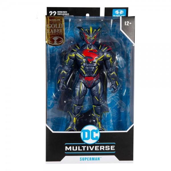DC Multiverse Actionfigur Superman Energized Unchained Armor (Gold Label)