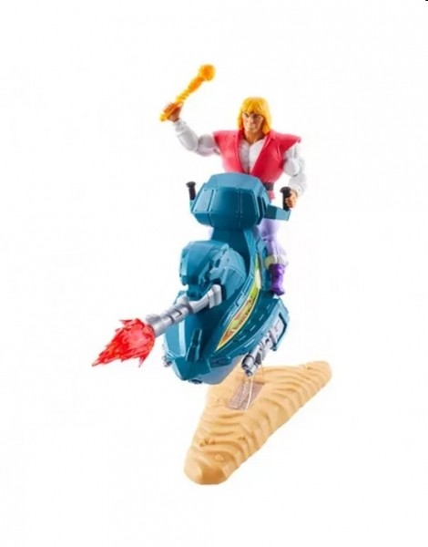 Masters of the Universe Origins 2020 Actionfiguren Set Prince Adam & Sky Sled