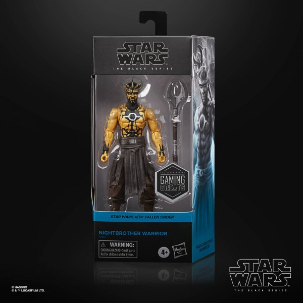 Star Wars Black Series Gaming Greats Actionfigur 15 cm Nightbrother Warrior (Exclusive)