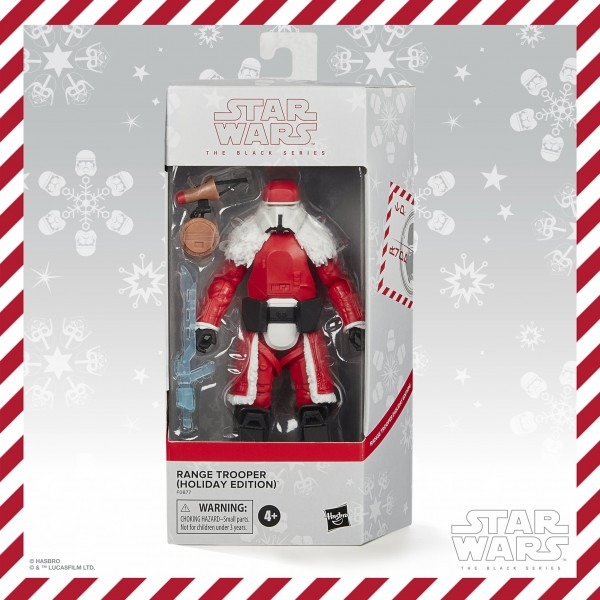 Star Wars Black Series Actionfigur 15 cm Range Trooper (Holiday Edition) Exclusive