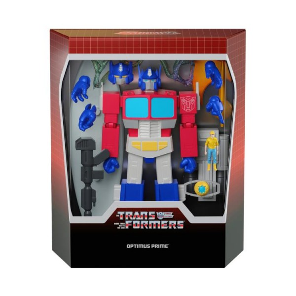 Transformers Ultimates Actionfigur Optimus Prime