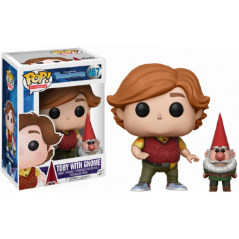 Trollhunters Funko Pop! Vinylfigur Toby with Gnome 467