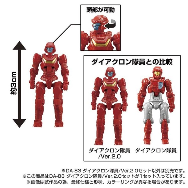 Transformers Diaclone Reboot - DA-83 Dia-Nauts (Version 2.0) 5-Pack