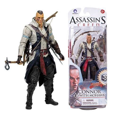 Assassin´s Creed Actionfigur Connor mit Mohawk