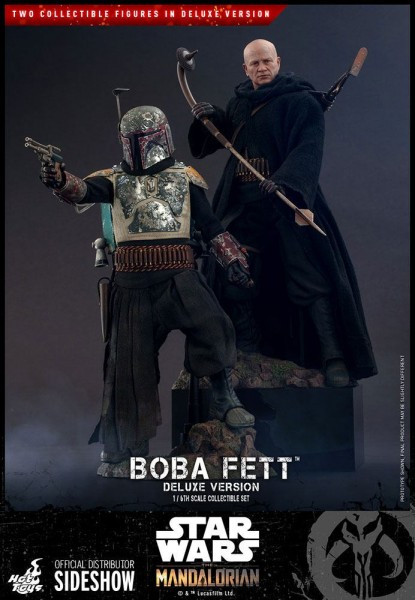 Star Wars The Mandalorian Television Masterpiece Actionfiguren 1/6 Boba Fett (Deluxe Version, 2-Pack