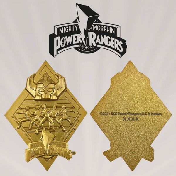Power Rangers vergoldete Medaille (Limited Edition)