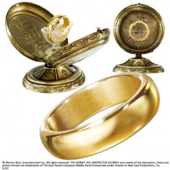 The Hobbit Prop Replik Hobbit One Ring