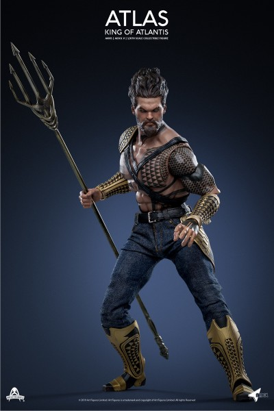 Art Figures 1/6 Actionfigur King of Atlantis ATLAS