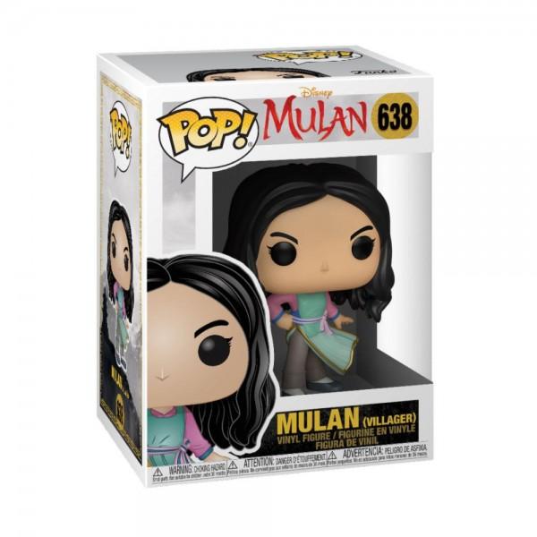Mulan (2020) Funko Pop! Vinylfigur Mulan (Villager) 638