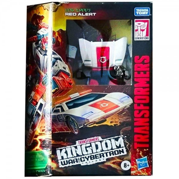 Transformers Generations War For Cybertron KINGDOM Deluxe Red Alert (Exclusive)