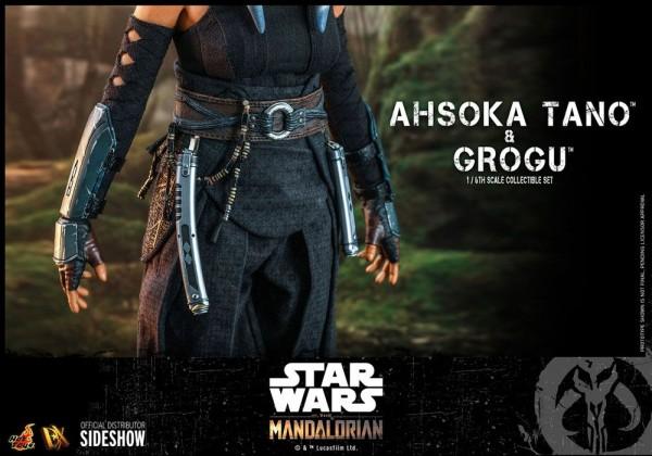 Star Wars The Mandalorian Television Masterpiece Actionfigur 1/6 Ahsoka Tano & Grogu