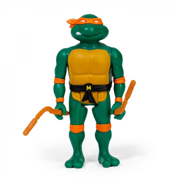 Teenage Mutant Ninja Turtles ReAction Actionfigur Michelangelo