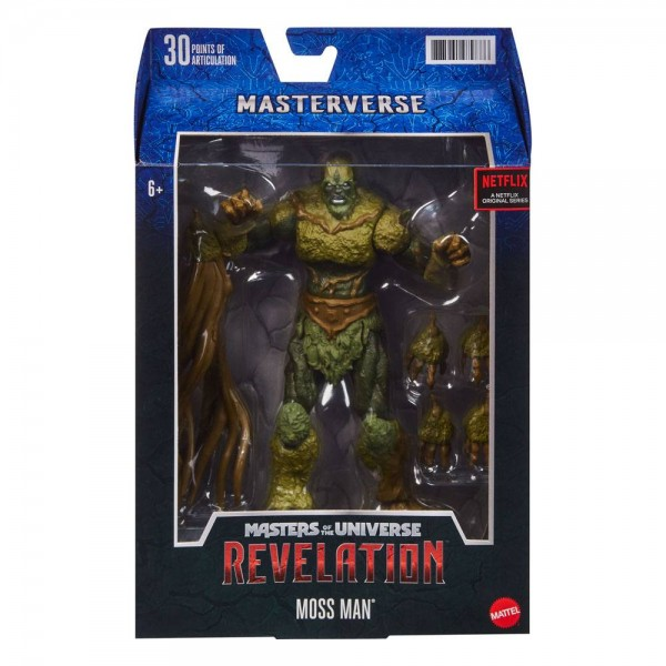 Masters of the Universe: Revelation Actionfigur Moss Man