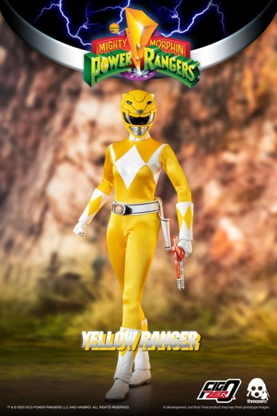 Mighty Morphin Power Rangers FigZero Actionfigur 1/6 Yellow Ranger