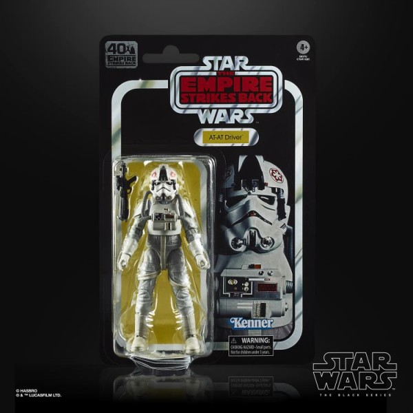 Star Wars Black Series Empire Strikes Back 40th Anniversary Actionfigur 15 cm AT-AT Driver