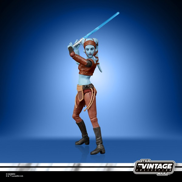 Star Wars Vintage Collection 50th Anniversary Lucas Film Actionfigur 10 cm Aayla Secura (Exclusive)