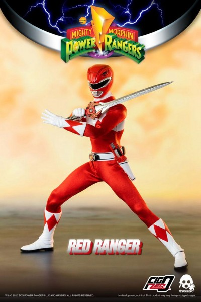 Mighty Morphin Power Rangers FigZero Actionfigur 1/6 Red Ranger