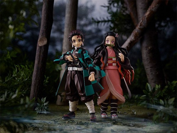 Demon Slayer: Kimetsu no Yaiba Figma Actionfigur Nezuko Kamado (DX Edition)