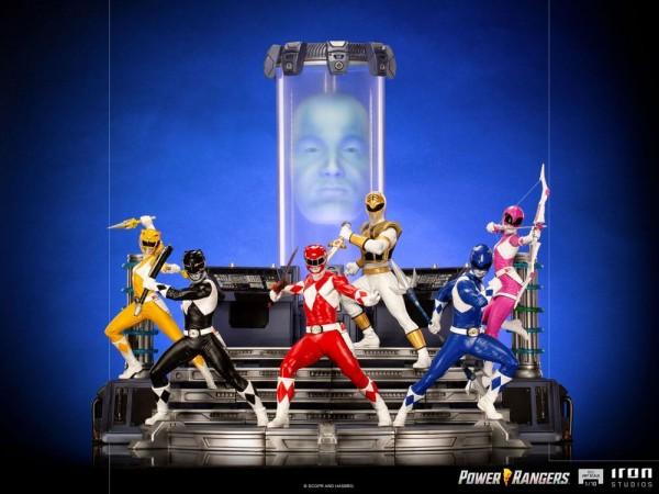 Power Rangers BDS Art Scale Statue 1/10 Yellow Ranger