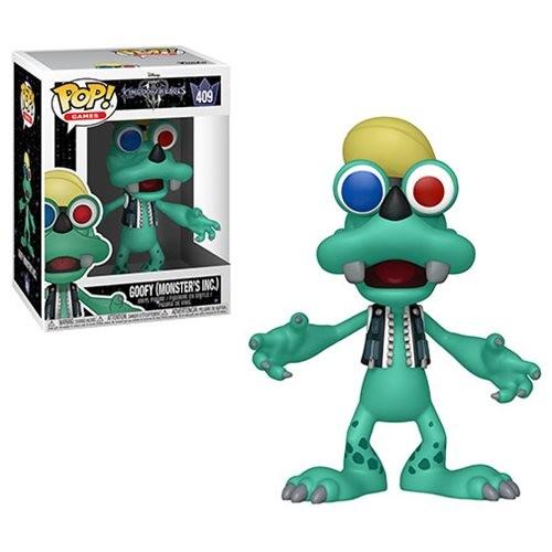 Kingdom Hearts 3 Funko Pop! Vinylfigur Goofy (Monster Inc.) 409
