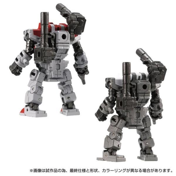Transformers Diaclone Reboot - DA-77 Powered Suits System Set (Version A & B)