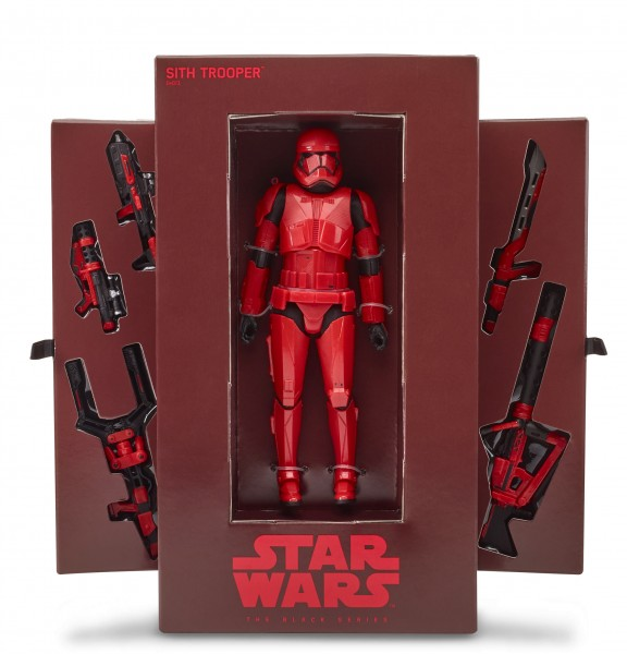 Star Wars Black Series Actionfigur 15 cm Sith Trooper (The Rise of Skywalker) SDCC 2019