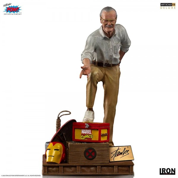 Marvel Comics Art Scale Statue 1/10 Stan Lee (Deluxe)
