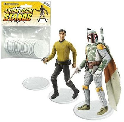 Stands für 10 cm Actionfiguren, transparent (25)