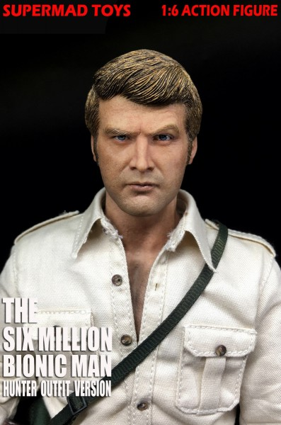Supermad Toys 1/6 Actionfigur The Six Million Bionic Man (Hunter Outfit)
