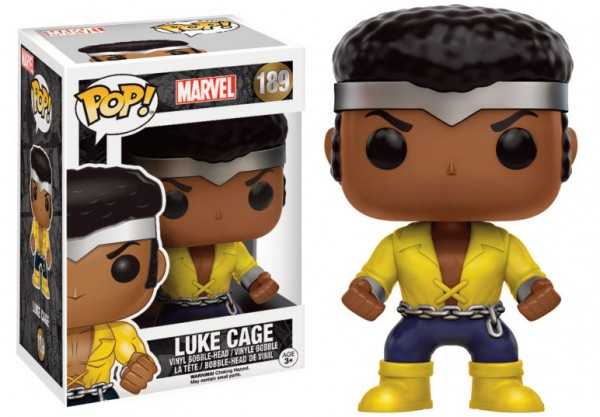 Marvel Funko Pop! Vinylfigur Luke Cage 189 Exclusive