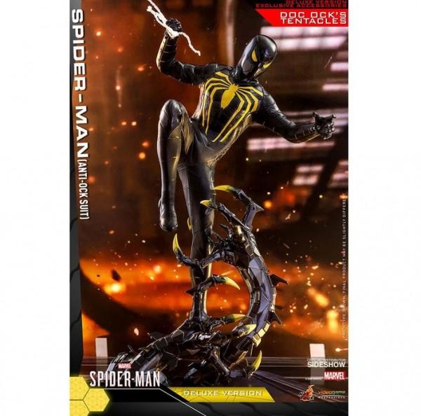 Spider-Man Video Game Masterpiece Actionfigur 1/6 Spider-Man (Anti-Ock Suit) Deluxe Version