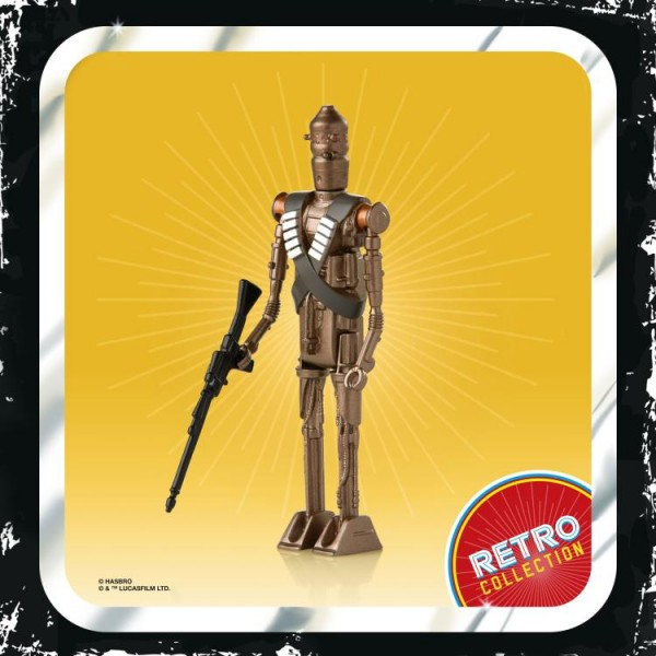 Star Wars Mandalorian Retro Collection Actionfigur 10 cm IG-11