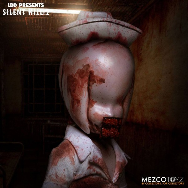 Silent Hill 2 Living Dead Dolls Puppe Bubble Head Nurse