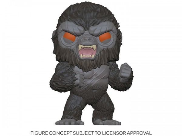 Godzilla vs. Kong Funko Pop! Vinylfigur Battle-Ready Kong