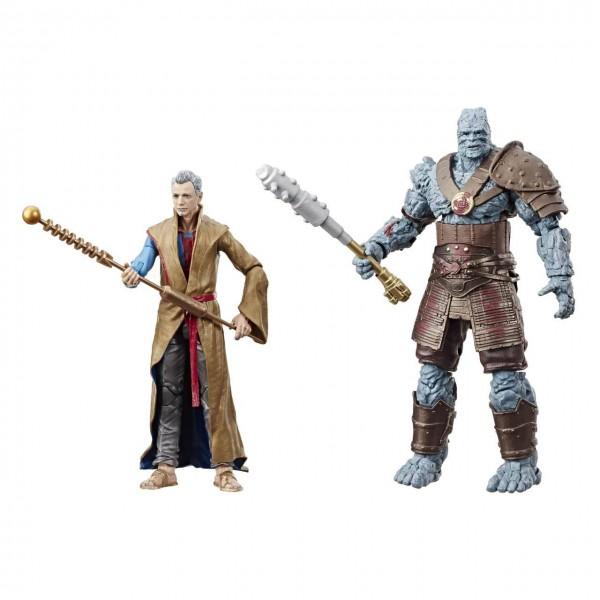 Thor Ragnarok Marvel Legends 80th Anniversary Actionfiguren Grandmaster & Korg (2-Pack)