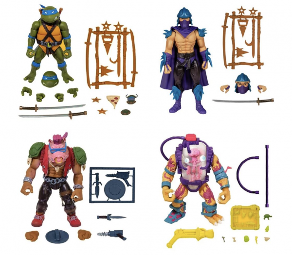 Teenage Mutant Ninja Turtles Ultimates Actionfiguren-Set Wave 2 (4)